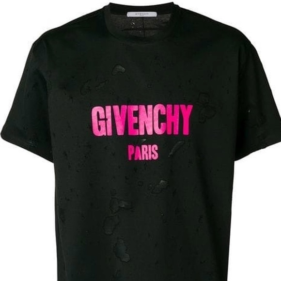 Limited Edition Pink Distressed Shirt